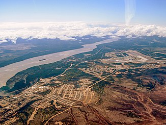 Churchill River bei Happy Valley-Goose Bay