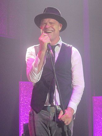 Gord Downie - Downie performing in 2013