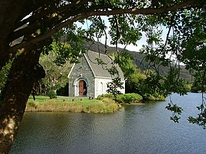 Saint Fin Barre's Cathedral - Modern church at Gougane Barra