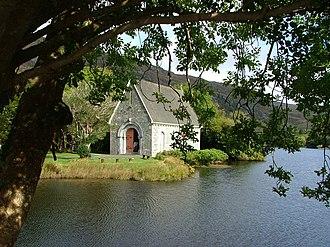Saint Fin Barre's Cathedral - Modern church at Gougane Barra