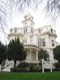 Governor's Mansion State Historic Park - exterior 1.JPG