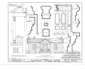 Governor Joseph D. Sayers House, 1903 Wilson Street, Bastrop, Bastrop County, TX HABS TEX,11-BAST,1- (sheet 2 of 4).png