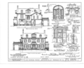 Governor Joseph Duncan House, 4 Duncan Place, Jacksonville, Morgan County, IL HABS ILL,69-JACVI,1- (sheet 2 of 11).png