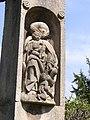 Grabstätte Oskar S. Geiges - Detail 7- Hauptfriedhof Freiburg Breisgau.jpg