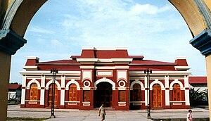History of rail transport in Nicaragua - Granada station building.