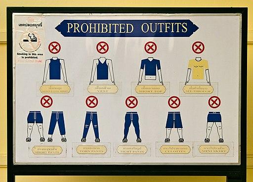 Grand Palace dress code