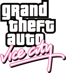 File:Grand Theft Auto Vice City logo png - Wikimedia Commons