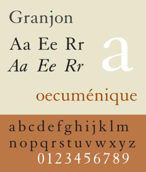 Granjon - Image: Granjon WM