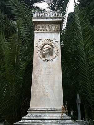 Richard Church (general) - Grave of Richard Church, Athens.