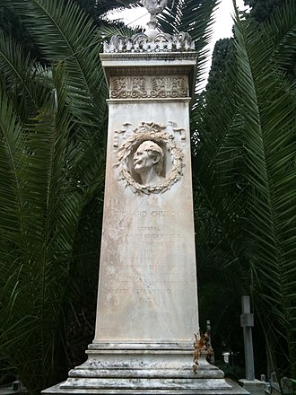 Richard Church (general) - Grave of Richard Church, Athens.