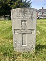 Gravestone of Gunner William John Jones of the Royal Artillery at Cathays Cemetery, May 2020.jpg