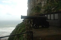 Great Siege Tunnels gun 2