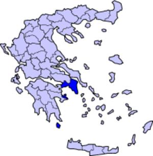 Athens Prefecture - Image: Greece Attica