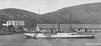 Flat-iron gunboat - Greek gunboat Aktion