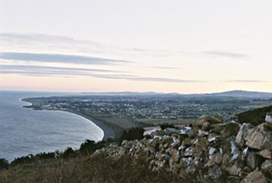 English: Greystones, viewed from the North