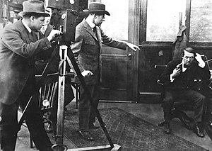 Henry B. Walthall - Filming The Escape in 1913