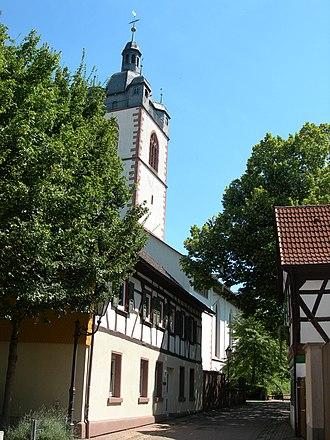 Groß-Gerau - Image: Groß Gerau Stadtkirche