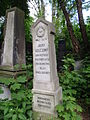 Grob Jozefa Goldszmita-Grave of Jozef Goldszmit.JPG