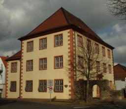 Grossenlueder hessen stiftskapitularisches amtshaus 2
