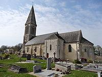 Guéron(14), Église st Germain , façade sud.JPG