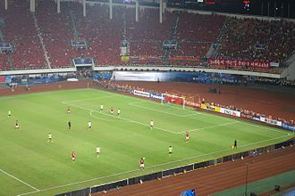 2013 AFC Champions League Final - The second leg of 2013 AFC Champions League Final in Tianhe Stadium.