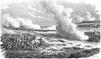 Battle of Estero Bellaco - Battle of Estero Bellaco, 2 May 1866(''L'Illustration: journal universel'', Vol. XLVIII, nº 1.227, 1º/09/1866).