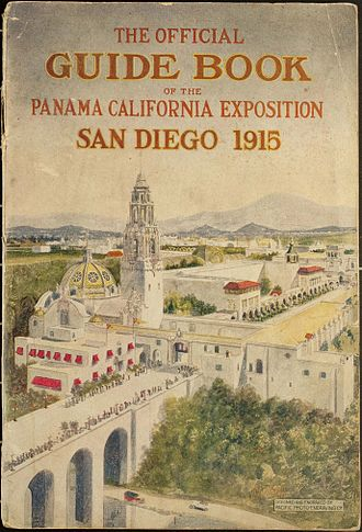 Panama–California Exposition - Official guide book