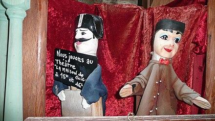 Un gendarme et Guignol