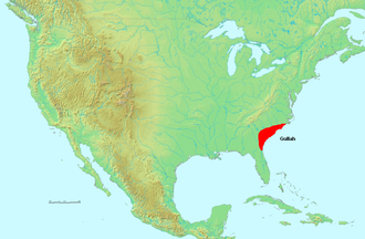 Gullah - The Gullah region once extended from SE North Carolina to NE Florida.