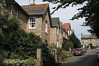 Gulval village in United Kingdom