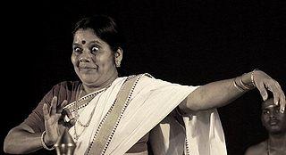 Kalamandalam Girija Indian Kutiyattam dancer
