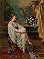 Gustave Léonard de Jonghe - In the artist's studio.jpeg
