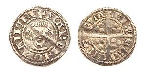 Guy, Count of Flanders - Sterling of Guy of Dampierre, struck Namur (circa 1295-1296).