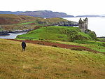 Gylen castle isle of kerrera scotland by day.JPG