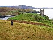 Gylen castle isle of kerrera scotland by day