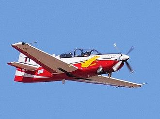 HAL HTT-40 - Image: HAL HTT40 aero India