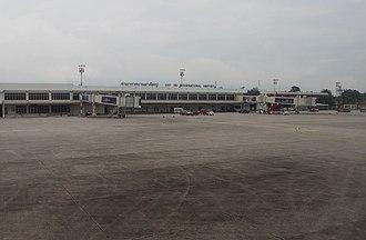 Hat Yai International Airport - Image: HDY Parking