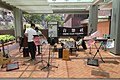 HKU campus 香港大學 main path Music Club booth April 2017 IX1.jpg