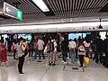 HK 港鐵 MTR 中環站 Central Station 月台 Platform May 2019 SSG visitors 03.jpg