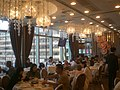 HK Kwun Tong Crocodile Centre 觀塘彩晶軒 Restaurant interior 好彩集團 Ho Choi Group windows.JPG