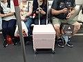 HK MTR Station Tseung Kwan O line train interior passengers July 2021 SS2.jpg