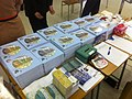 HK Mid-levels Bonham Road 聖保羅書院 Saint Paul's College 開放日 Exhibition Day book sale counter Nov-2011.jpg