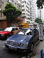 HK Sheung Wan 上環 樂古道 Lok Ku Road carparking Benz E240 June-2012.JPG