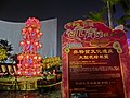 HK TST Salisbury Garden night fountain lighting LCSD sign Feb-2013.JPG