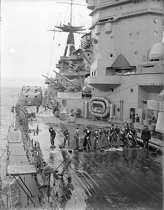 Invergordon Mutiny - Image: HMS Rodney 1