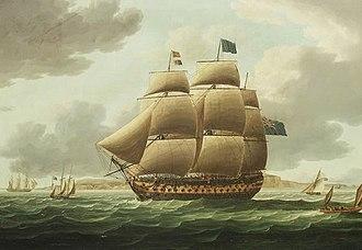 HMS Ville de Paris - Image: HMS Ville de Paris