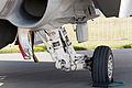 HN-441 F-A-18C Hornet Finnish Air Force ILA 2012 main landing gear.jpg