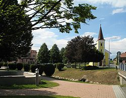 Park with the Chapel of Saints Cyril and Methodius