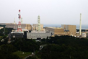 Hamaoka Nuclear Power Plant - The Hamaoka NPP from the viewing platform at the plant museum