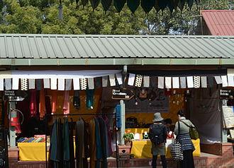 Rehwa Society - Rehwa Society outlet (left) at Dastkar Nature Bazaar, Mehrauli, Delhi